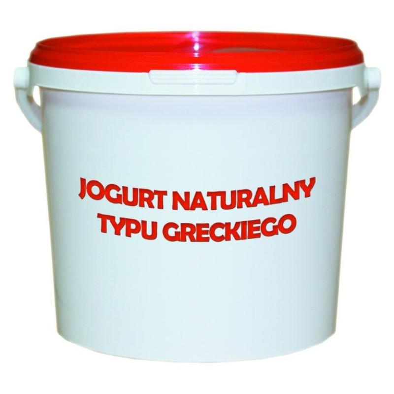 JOGURT NATURALNY TYPU GRECKIEGO WIADRO