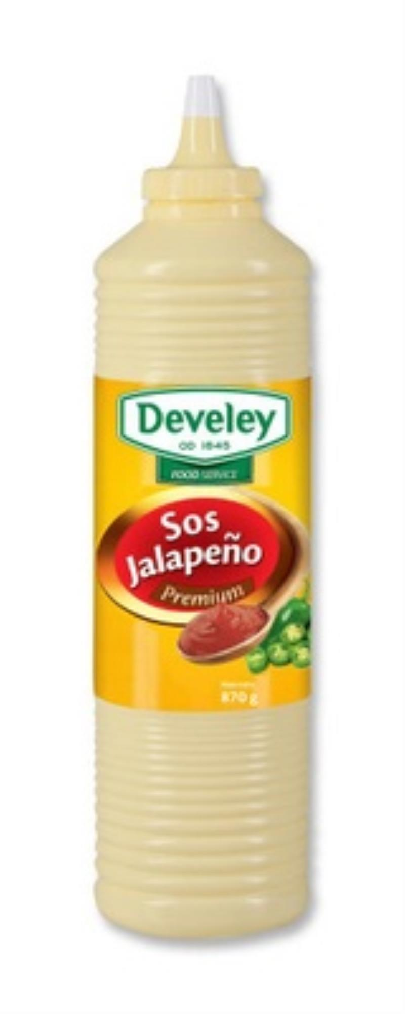SOS JALAPENO W BUTELCE 870G