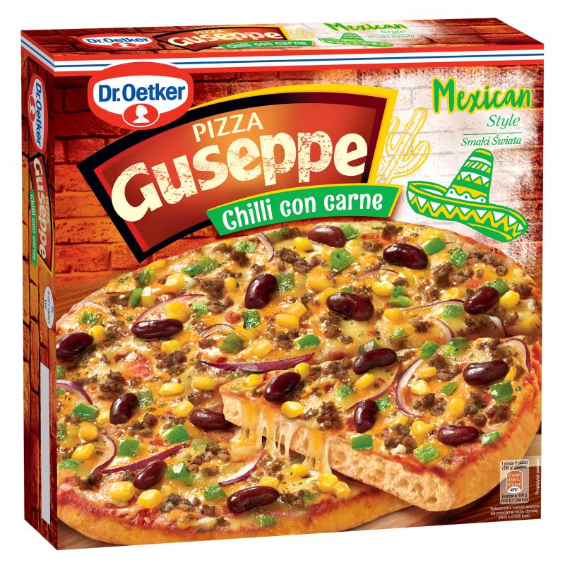 PIZZA MEXICAN CHILLI GUSEPPE 395G