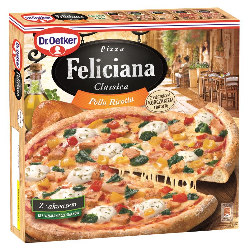 PIZZA POLLO RICOTTA  FELICIANA