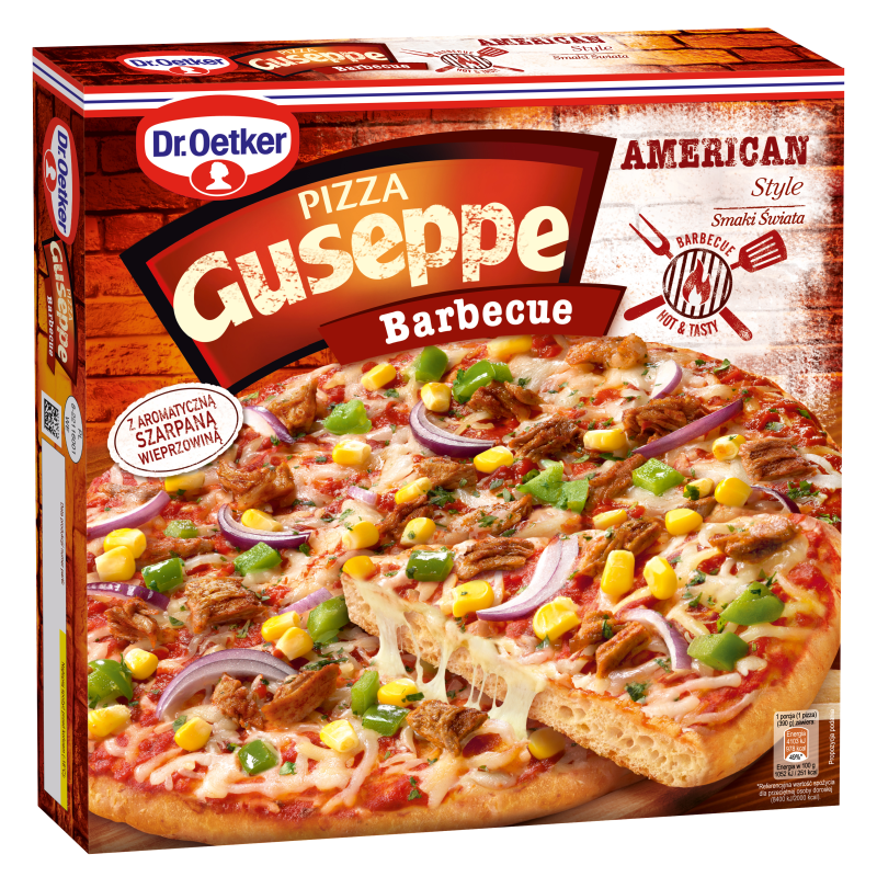 PIZZA BARBECUE GUSEPPE