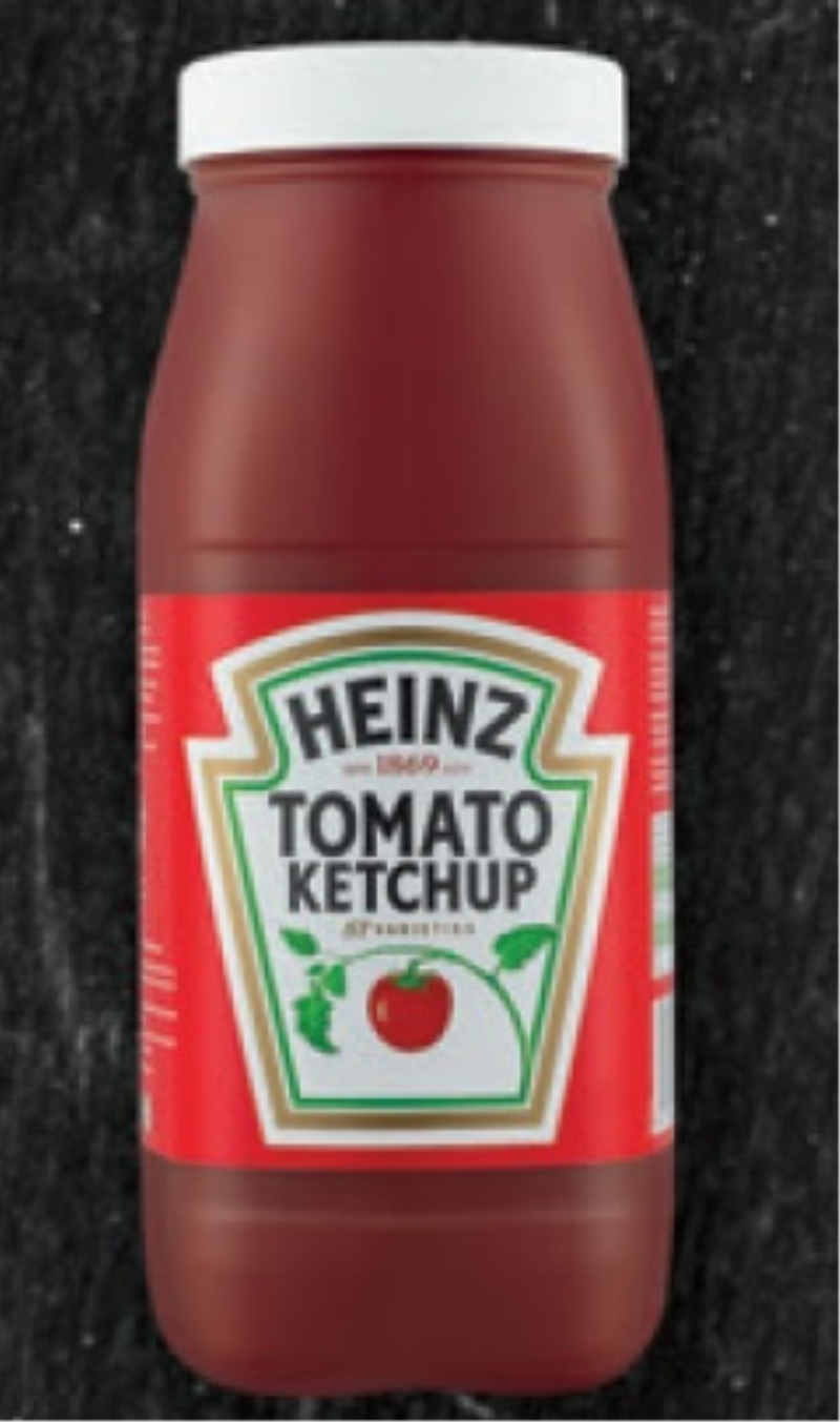 KETCHUP ŁAGODNY W BUTELCE