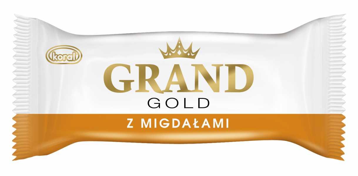 LODY GRAND GOLD O SMAKU WANILIOWO- MIGDAŁOWYM