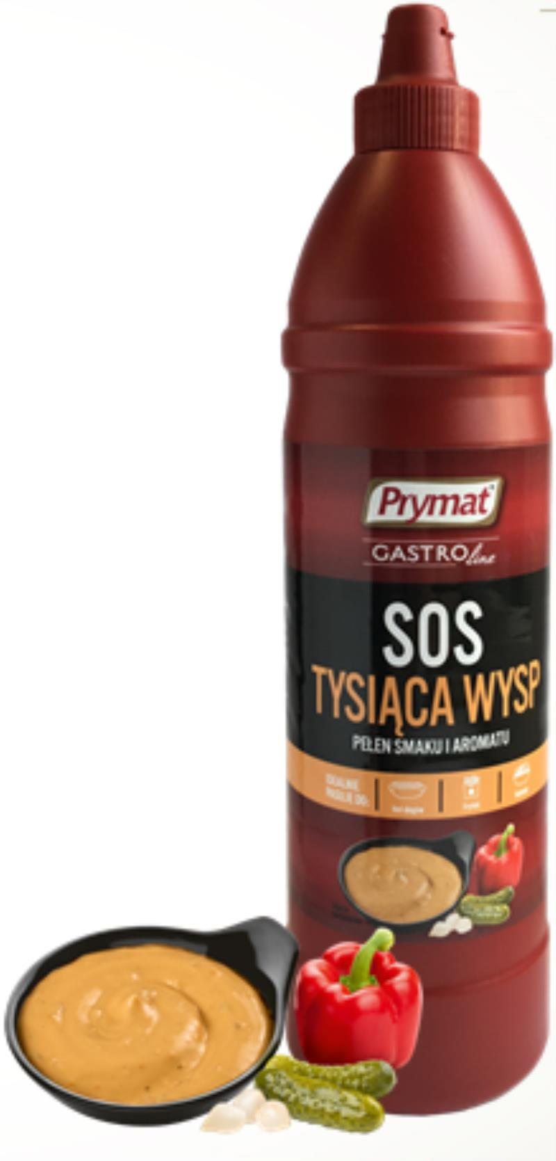 SOS TYSIACA WYSP BUTELKA PET 950G