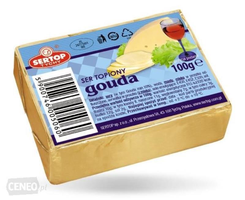 SER TOPIONY GOUDA 10*100G