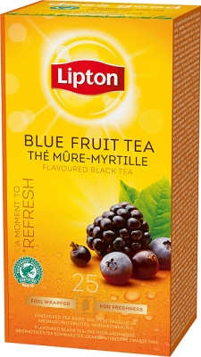 HERBATA BLUE FRUIT 25SZT /LIPTON