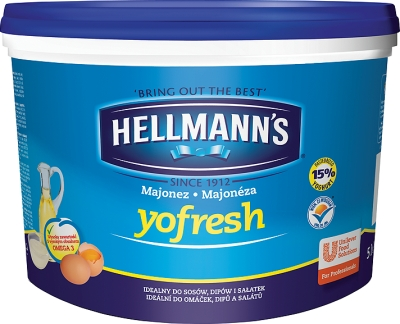 MAJONEZ HELLMANS YOFRESH