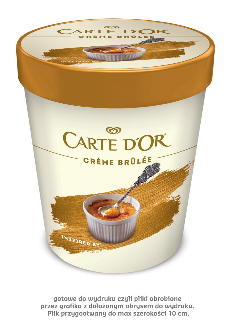 LODY CARTE D'OR O SMAKU CREME BRULEE